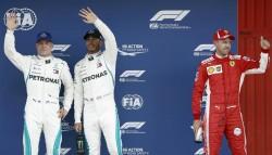 Hamilton se hace con la 'pole', su segunda en la temporada