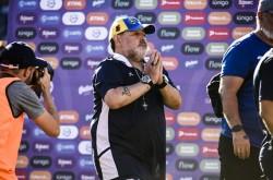 Maradona vuelve a Gimnasia dos días después de haber renunciado