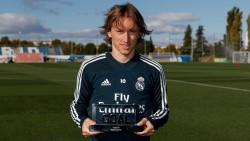 Luka Modric supera a Cristiano y Salah en el GOAL 50
