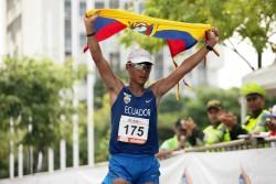 Ecuador, Perú y Bolivia suben al podio en los 50 kilómetros de marcha