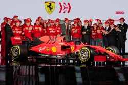 Ferrari presenta el SF90, el nuevo monoplaza de Vettel y Leclerc