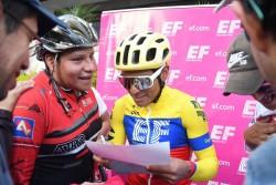 Jonathan Caicedo lidera el Tour Colombia, Molano gana la etapa