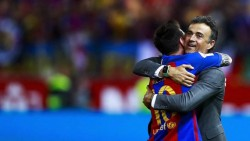 """Luis Enrique: """"El jugador que más me ha impresionado es Messi"""""""