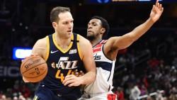 Jazz llegan a nueve victorias seguidas; Knicks dan la sorpresa