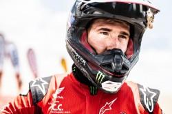 Ricky Brabec, líder del Dakar en motos, fuera de carrera por una avería