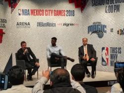 La NBA busca incrementar el número de partidos en México