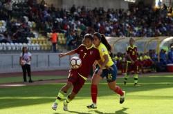 """La """"Tricolor Femenina"""" no pudo ante Venezuela"""