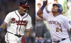 Aguilar y Acuña comparten premio al mejor venezolano en las Ligas Mayores