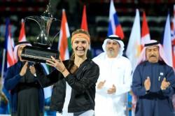 Svitolina vence a Wozniacki y se hace con el título en Dubai