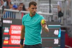 Dimitrov elimina a Verdasco en segunda ronda en el Masters 1000 de Toronto