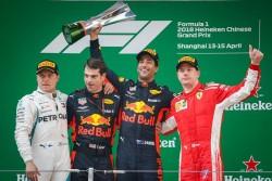 El Red Bull de Ricciardo gana el Gran Premio de China