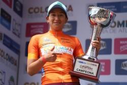 Miryam Núñez, campeona de la Vuelta a Colombia