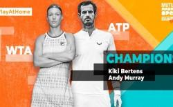 Andy Murray y Kiki Bertens ganan el Mutua Madrid Open Virtual
