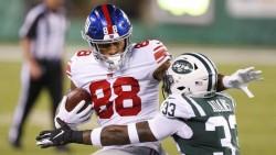 Los Giants se perderán a su ala cerrada Evan Engram