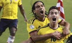 Falcao y James encabezan a Colombia para amistosos contra Francia y Australia