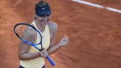 Sharapova se mete en semifinal tras batalla de más de 3 horas con Ostapenko