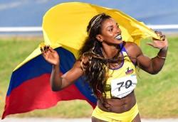 La colombiana Caterine Ibargüen, entre las candidatas a mejor atleta del año
