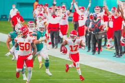 Los Packers y los Chiefs, campeones en sus respectivas divisiones (Resumen)