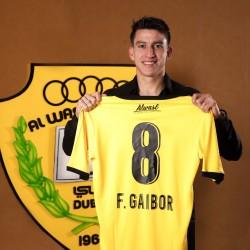 Fernando Gaibor fue presentado oficialmente en Al Wasl