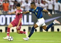 """(4-3) Catar tumba al Ecuador de """"Bolillo"""" Gómez en un festival de goles"""