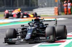Hamilton firmó la 'pole' en Monza
