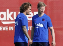El Barcelona parte a Japón con Griezmann y De Jong