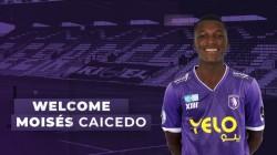 Moisés Caicedo jugará en Bélgica