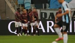Liga ganó en Brasil y avanza en Copa Sudamericana
