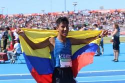 Óscar Patín hace historia en los Juegos Olímpicos de la Juventud