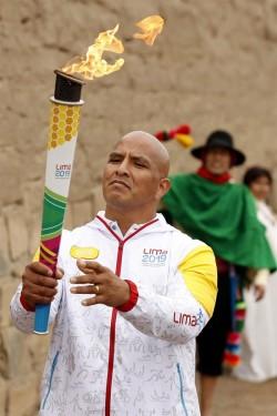 Encendida la antorcha de Parapanamericanos Lima 2019 en ritual frente al mar