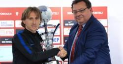 Modric premiado como mejor deportista de 2018 por la prensa deportiva