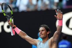 Solo Nadal pasa sin sufrir, Dimitrov y Wozniacki a punto de caer