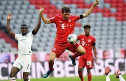 Müller: Claro que me gustaría tener público, pero mi trabajo es jugar fútbol