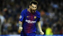 Una quinta parte de los goles de Messi llegan de Europa