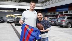 """Los Patriots dan al Barcelona """"la bienvenida al club de las remontadas"""""""