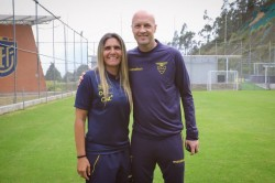 Emily Lima y su mensaje junto a Jordi Cruyff