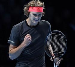 Zverev, primer alemán en semifinales después de 15 años y contra Federer