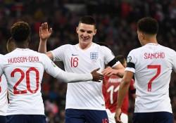 Francia se pasea, Inglaterra golea y Cristiano se queda sin marcar (Resumen)
