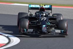 Bottas firmó la 'pole' en el Nürburgring