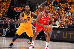 Paul y Durant ponen a Rockets y Warriors a un triunfo de finales del Oeste (Resumen)