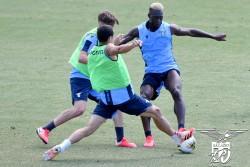 """Con """"contacto"""", Caicedo se alista para el retorno de la Serie A"""