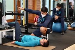 Ecuador ya se entrena en la Casa de la Selección
