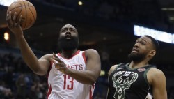 Rockets y Pelicans siguen con rachas ganadoras; vencen Raptors y Cavaliers (Resumen)