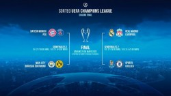 Listos los cuartos de final de la UEFA Champions League