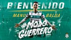 Manuel Balda jugará en el Santos Laguna
