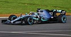 El Mercedes W10 ya rueda en Silverstone