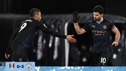 Guardiola habló sobre el futuro del Kun Agüero