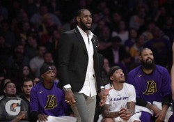 James se perderá otro dos partidos más con los Lakers