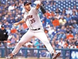 Verlander domina a exequipo; Astros vuelven a ganar; Jackson hace historia (Resumen)