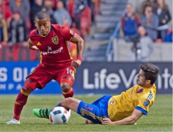 Real Salt Lake sale del sótano en el Oeste de la MLS
